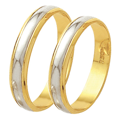 0d9d736cd2c74 Par de aliança ouro 18k ¹ - O Garimpo - vitrine online